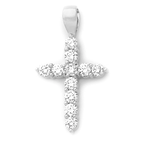 RBC Claw Cross Pendant