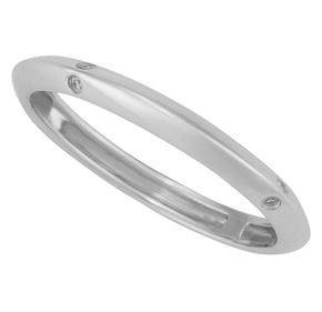 Knife Edge Wedding band R15205
