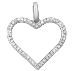 Open Heart Pendant HP12