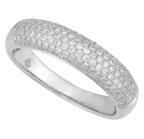Micro Pave Domed Dress Ring MPAVRI4