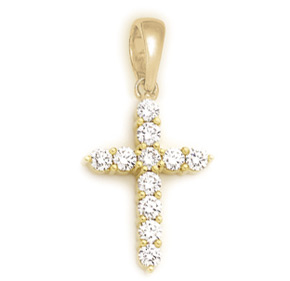 Shared Claw Cross Pendant