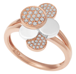 Round Disc Style 2 Tone Ring RDISC25