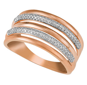 Micro Pave Dress Ring