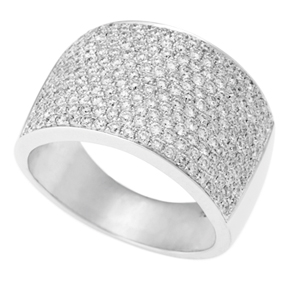 Micro Pave Set Ring
