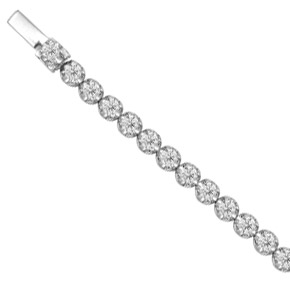 Claw Set RBC Tennis Bracelet