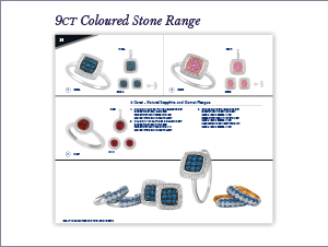 Temptation Jewellery Catalogue 2016 - 2017 - 9CT Coloured Stone Range